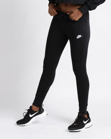 Nike Sportswear Fleece Tights Black