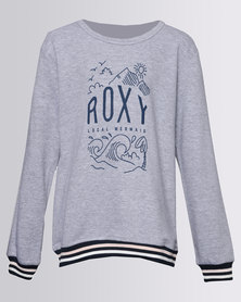 Roxy Girls Shine All Day 2 Top Grey Melange