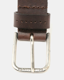DC Archery Leather Belt Brown