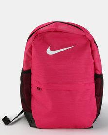 Nike Kids' Brasilia Backpack Rush Pink/Black/White