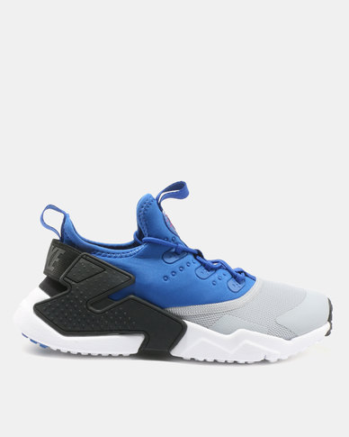 6399e6e72e05 Nike Boys  Nike Huarache Drift (GS) Shoe Game Royal White Wolf Grey Black