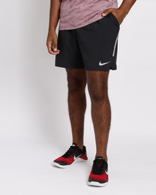 Nike Performance Mens Nike FLX Stride BF 7IN Shorts Black