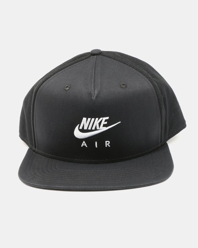 2df7d0648381 Nike U NSW Pro Cap Nike Air Black White
