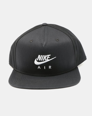 a41bcb75253 Nike U NSW Pro Cap Nike Air Black White