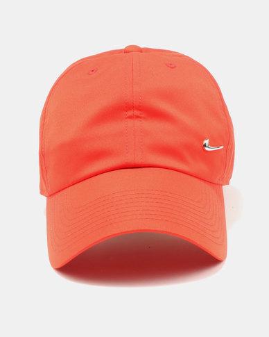 b36c05e7df5 Nike U NK H86 Cap Metal Swoosh Haberno Red