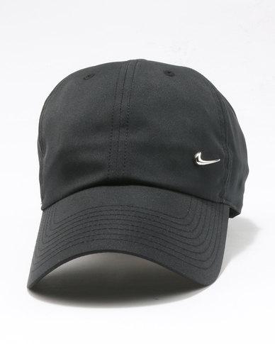 f25824ec248ed Nike U NK H86 Cap Metal Swoosh Black