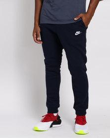 Nike Mens Sportswear Club BB Joggers Blue