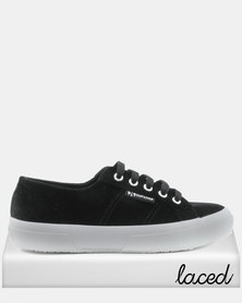 Superga Superga Embroidered Velvet Lo 999 Sneaker Black discount very cheap visit cheap price 4omCZr