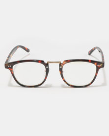UNKNOWN EYEWEAR Beltazar Clear Lenses Sunglasses Tortoise