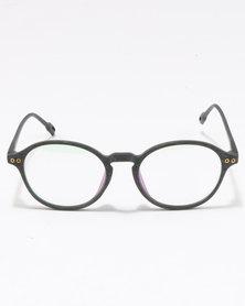 UNKNOWN EYEWEAR Dario Clear Lenses Sunglasses Black