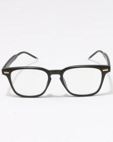 UNKNOWN EYEWEAR Hostage Clear Lenses Sunglasses Black