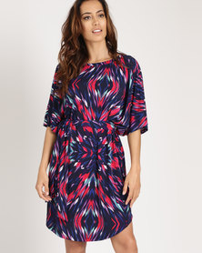 Michelle Ludek Ella Dress Winter Print