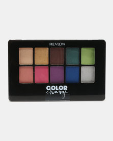 Revlon Color Charge ColorStay Eyeshadow Palette Colour Collage
