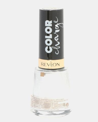 Revlon Color Charge Nail Enamel Silver Base Coat