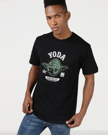 Primate Collectables Star Wars Yoda Grand Master Tee Black