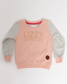 Lizzy Gils Bambi L/S Crewneck Sweater Dusty Pink
