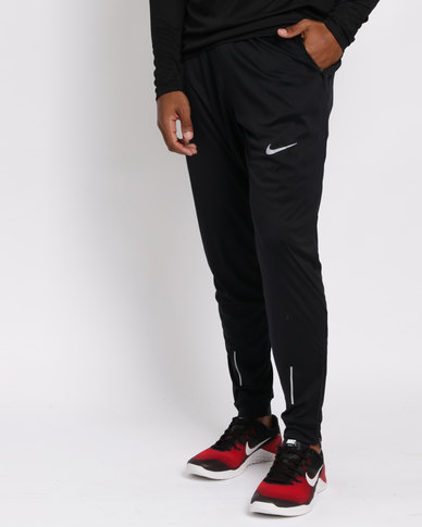 5019aeed8715 Nike Performance Mens Nike Essential Knit Pants Black