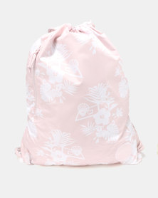 Converse Unisex Cinch Bag Pink/White