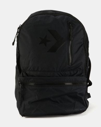 912da375b71b Converse Unisex Street 22L Backpack Black
