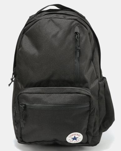602204726bba Converse Unisex Go Backpack Black