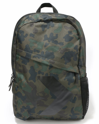 098220db4a486e Converse Unisex Speed Backpack Camo Converse Black