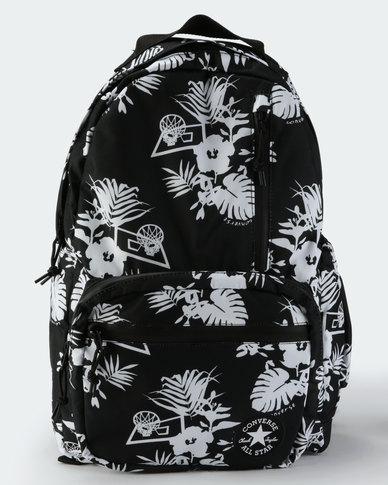 e9320d1f2dd8 Converse Unisex Go Backpack Black White