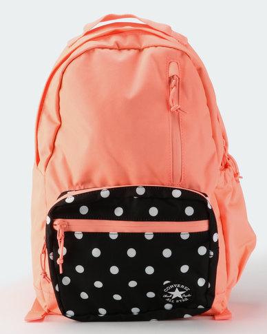 5f18c6730aa4 Converse Unisex Go Backpack Crimson Pulse Black White