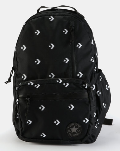 1eaac9d9b5309 Converse Unisex Go Backpack Star Chevron/Black/White