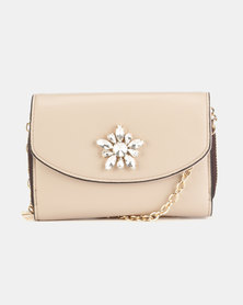Call It Spring Gwiaven Clutch Bag Natural