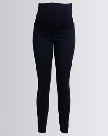 Cherry Melon Jeggings Ponte Navy