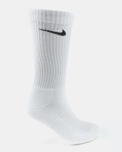 c4ff10bed Nike Performance Unisex 3 Pack Nike Cushion Crew Socks White | Zando