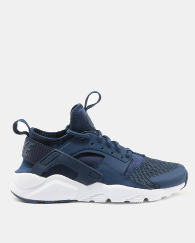 a162dc4b2b107 Nike Boys  Nike Air Huarache Run Ultra SE (GS) Shoes Navy Black