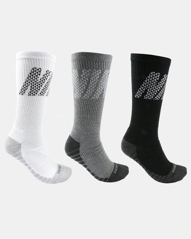 d20129b55d646 Nike Performance Unisex Everyday Max Cushion Crew 3 Pack Socks Multi