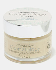 Hemporium Cosmetology Lemongrass Gentle Face Scrub 67ml