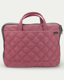 Kingsons Laptop Bag Trace Series Pink