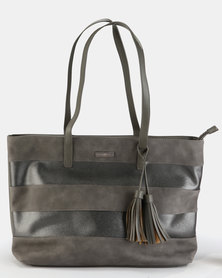 Supa Nova Tassels Laptop Handbag Grey