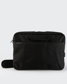 Kingsons Charged Series Smart Shoulder Bag Black