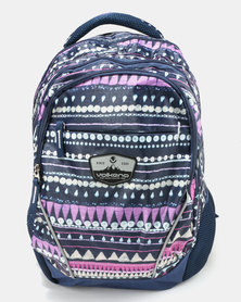 Volkano Champ Printed Backpack Multi