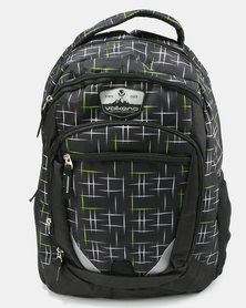Volkano Champ Printed Backpack Black