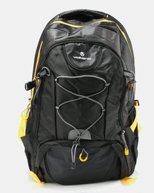 Volkano Clarence Backpack Black