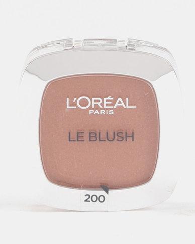 DISC L'Oreal True Match Blush 200 Golden Amber