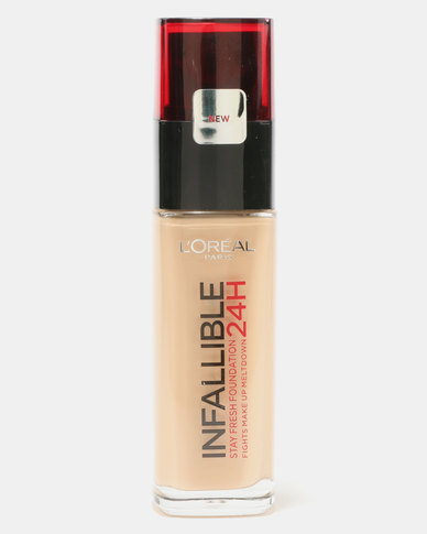 L'Oreal Infallible Foundation Golden Beige 140