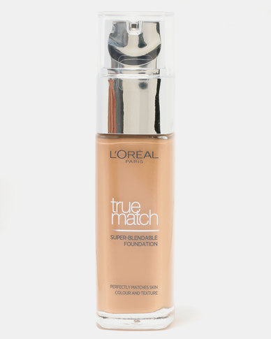 True Match Foundation Golden Amber 7D7W