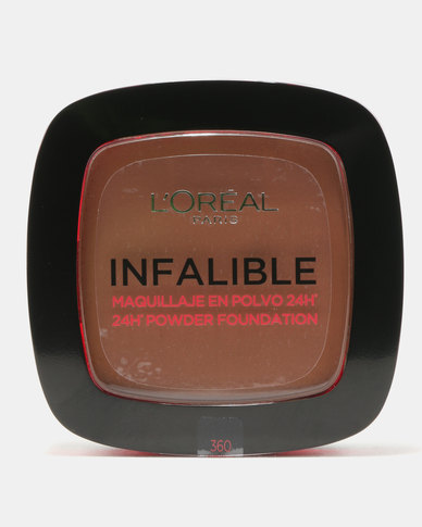 DISC L'Oreal Infallible Powder Cappuccino 360