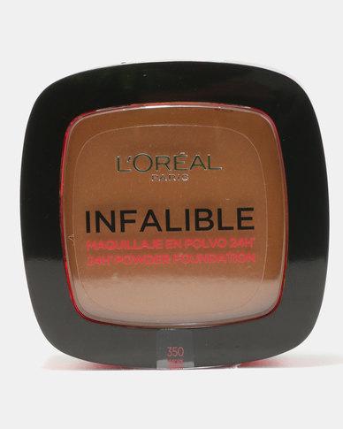 DISC L'Oreal Infallible Powder Nutmeg 350