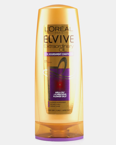 DISC L'Oreal Elvive Curl Nutrition Conditioner 400ml