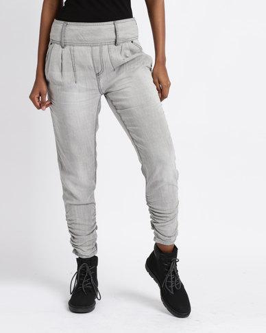 Vero Moda Portmanring 9/10 Trousers Grey