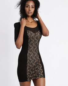 Vero Moda Bice 1/2 Knit Dress Black
