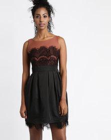 Vero Moda Salina PU Dress Multi