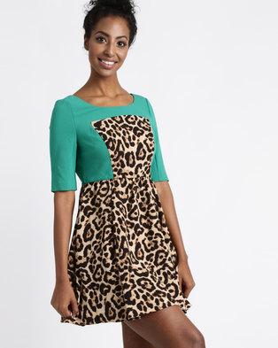 Vero Moda Cleopatra Dress Dark Green